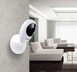 Câmera wi-fi para os apartamentos