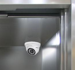 Câmera de segurança para elevadores
